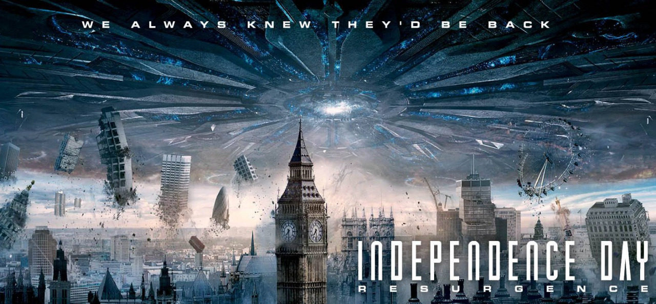 Recenzija: Independence Day: Resurgence (2016)