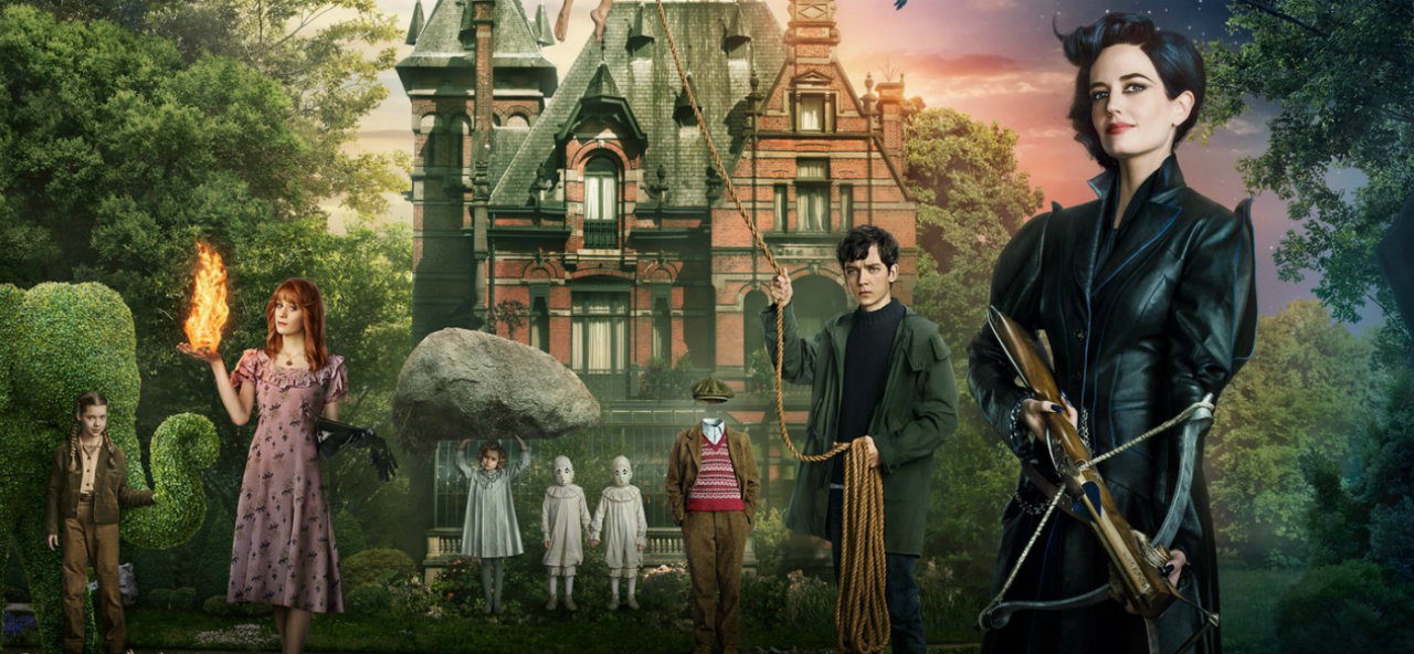 Recenzija: Miss Peregrine's Home for Peculiar Children (2016)