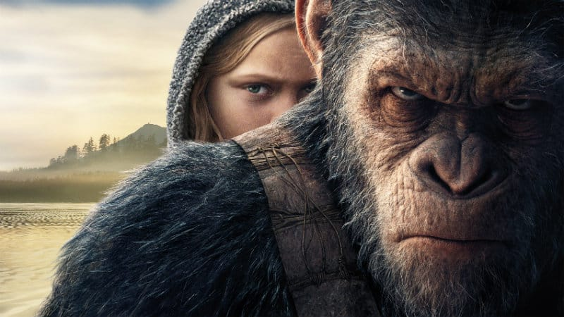 Recenzija: War for the Planet of the Apes (2017)