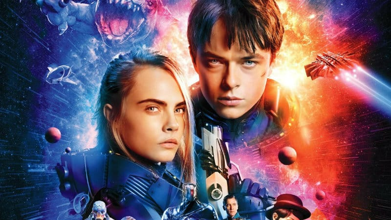 Recenzija: Valerian and the City of a Thousand Planets (2017)