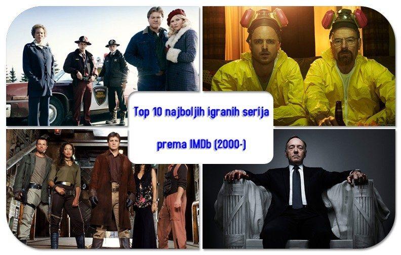 Top 10 TV serija prema IMDb korisnicima