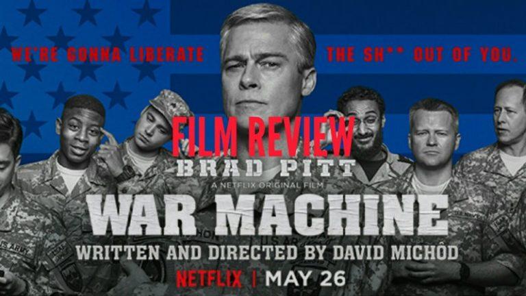 Recenzija: War Machine (2017)
