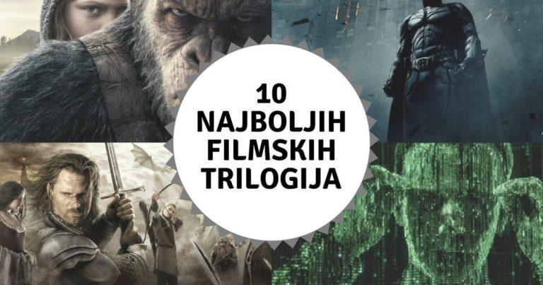 10 Najboljih Filmskih Trilogija – Svih Vremena