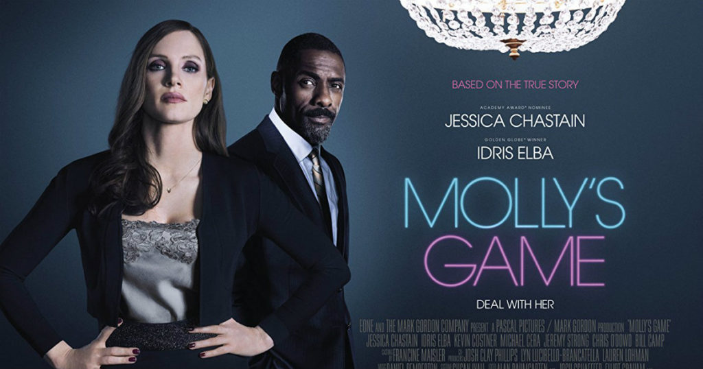Recenzija: Molly's Game (2018) - Svijet filma
