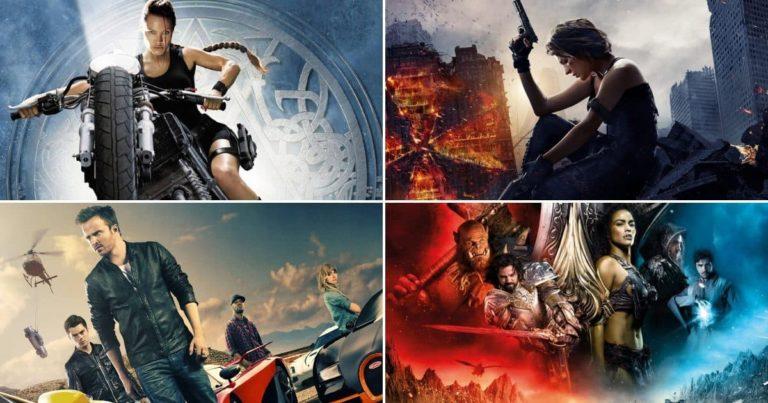 20 Najboljih filmova pravljenih prema Video Igrama