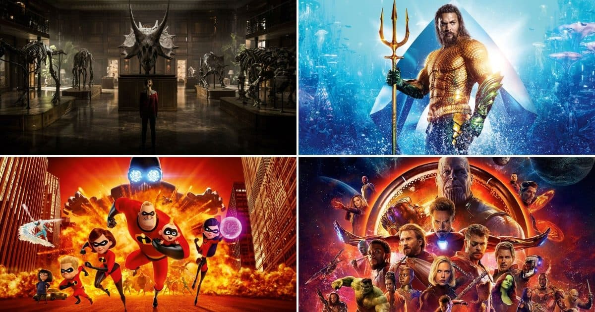 Najgledaniji filmovi 2018 godine