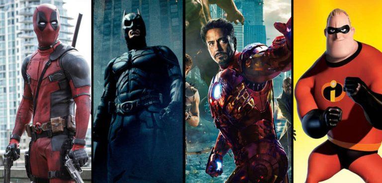 10 Najbolje ocijenjenih Superhero filmova
