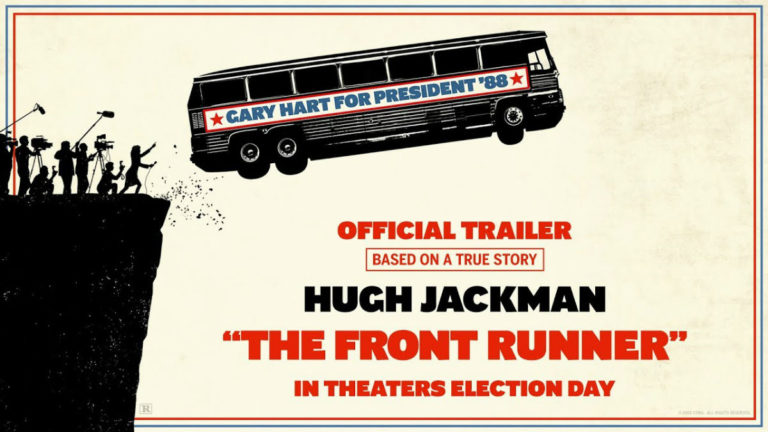 Trailer: The Front Runner (2018)