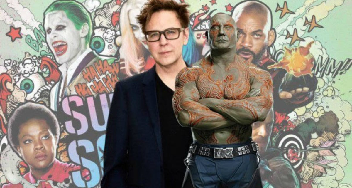 Dave Bautista želi glumiti u James Gunnovom 'Suicide Squad 2'