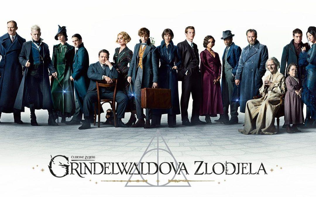 Recenzija: Fantastic Beasts: The Crimes of Grindelwald (2018)
