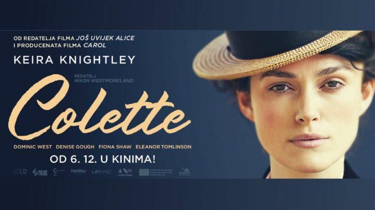 Najava filma Colette (2018)