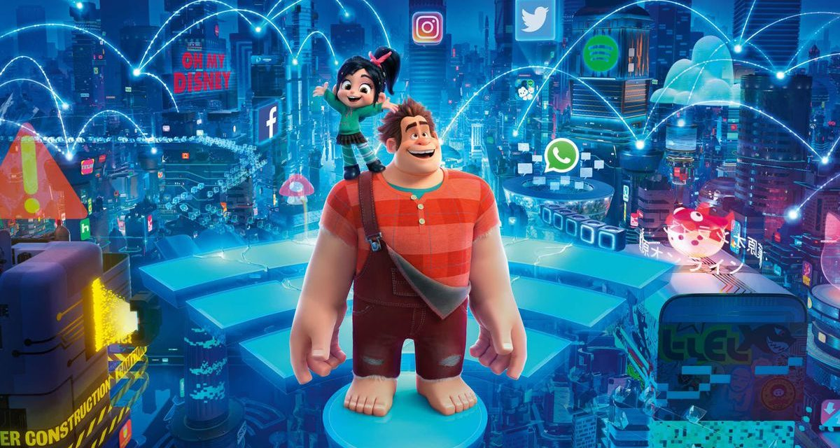 Recenzija: Ralph Breaks the Internet (2018)