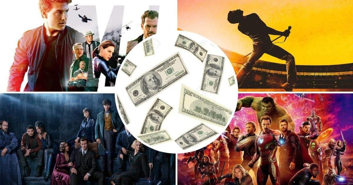 10 filmova s najvećom zaradom u 2018