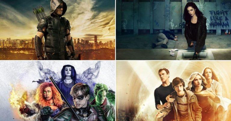 20 Najpopularnijih Superhero serija 2018