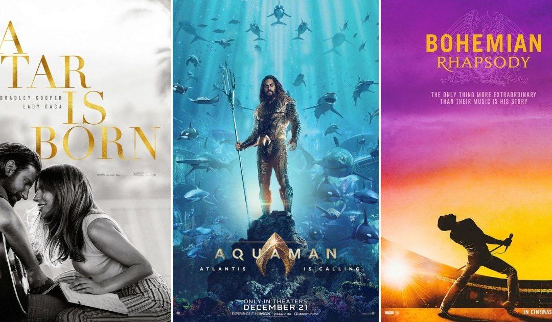 Bohemian Rhapsody ruši rekorde u Hrvatskoj, drugi po gledanosti su Aquaman i Zvijezda je rođena