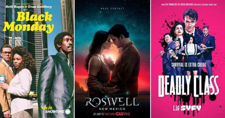 """Tri nove serije na HBO GO-u – """"Crni ponedjeljak"""", """"Roswell: Novi Meksiko"""" i """"Škola za ubojice"""""""