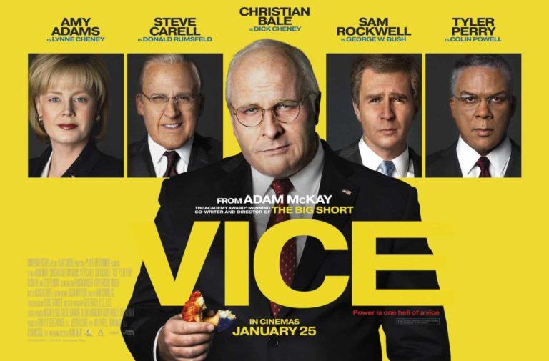 Recenzija: Vice (2018)