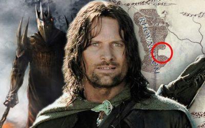 Lord of the Rings mapa potvrđuje da serija nije Silmarillion ili Mladi Aragorn