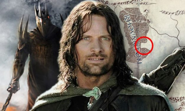 Lord of the Rings mapa potvrđuje da serija nije Silmarillion ili Mladi Aragorn