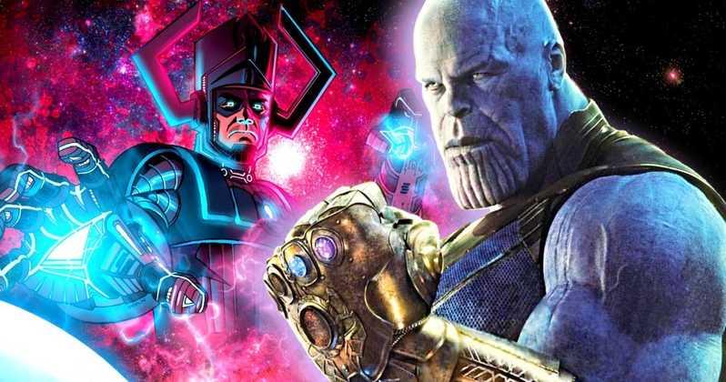 Avengers: Endgame teorija kaže da je Thanos stvorio Galactusa drugim pucketanjem