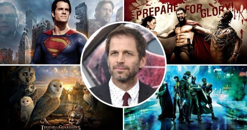 5 Najboljih filmova Zack Snyder