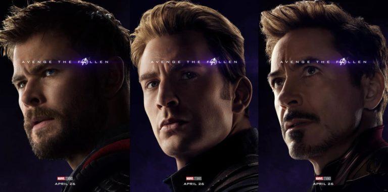 Avengers Endgame: Posteri likova!