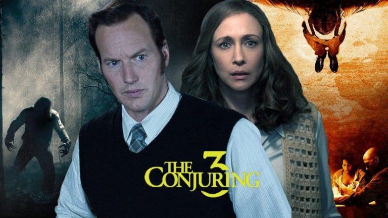 The Conjuring 3 prva slika i logo