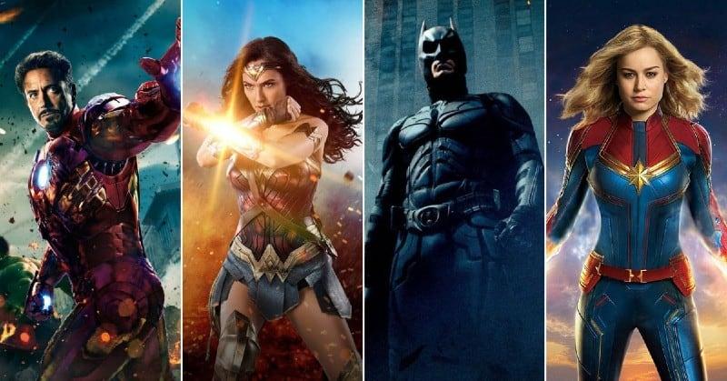 20 Najboljih Superherojskih filmova [Rotten Tomatoes]