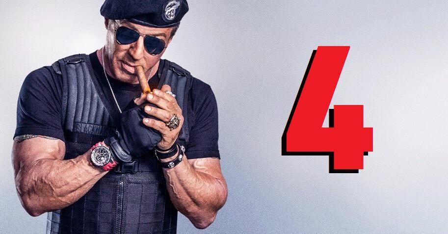 Sylvester Stallone radi na Expendables 4