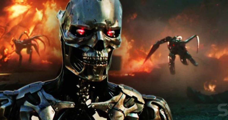 Dark Fate predstavlja novi model Terminatora … S pipcima