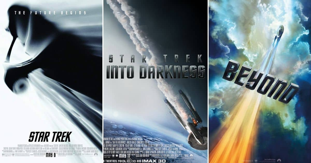 star trek three movies series (2009-2016)