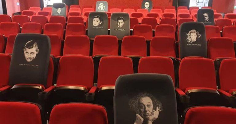 Kino Urania u Osijeku obnovilo sjedala kultnim likovima i citatima iz Hollywoodskih klasika!