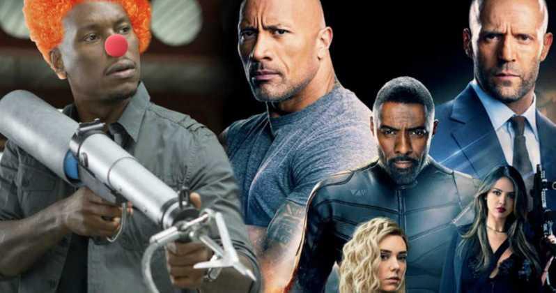 'Hobbs And Shaw' zvijezda Dwayne Johnson nastavlja svađu s Tyrese Gibsonom prozivajući 'Glasne Klaunove'