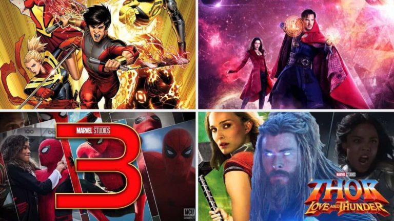 Povratkom Spider-Mana, u 2021. će po prvi puta izaći ČETIRI MCU filma u jednoj godini