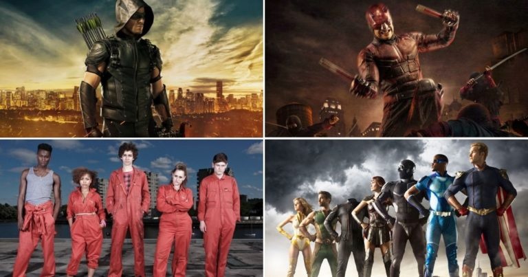 10 Najboljih Superherojskih Serija ovog Desetljeća