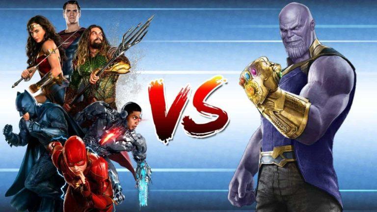 DC Fan koji misli da Justice League može pobijediti Thanosa nije dobro prošao na internetu