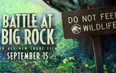 Jurassic World Kratki Film 'Battle At Big Rock' dolazi ove Nedjelje