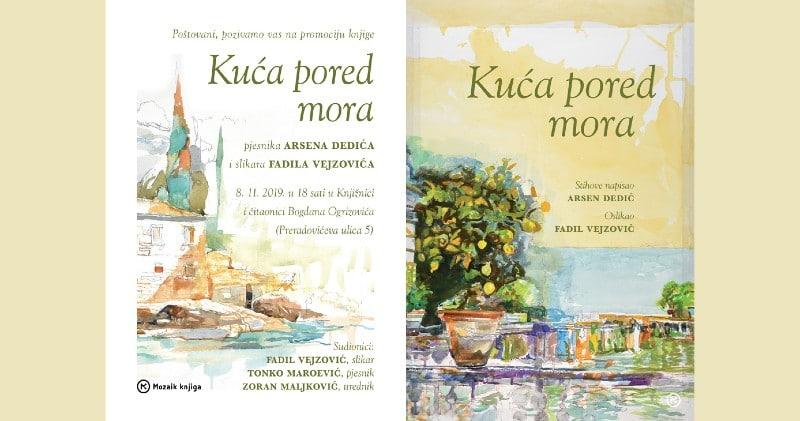 """Mozaik knjiga Vas poziva na promociju knjige """"Kuća pored mora"""""""