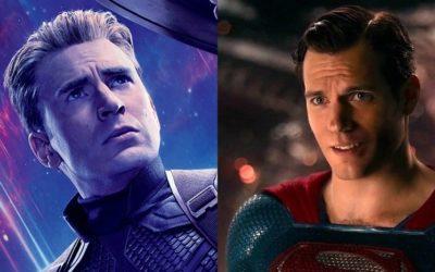 Avengers: Endgame zvijezda Chris Evans u Henry Cavillovom Superman odijelu u novoj fanovskoj slici