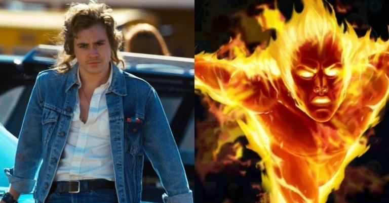 Stranger Things zvijezda Dacre Montgomery postaje Human Torch u odličnoj Fantastic Four fanovskoj slici