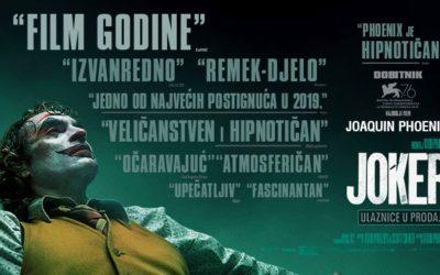 Joker obara rekorde na domaćim kinoblagajnama