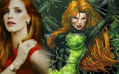 Jessica Chastain postaje Poison Ivy za Robert Pattinsonov 'The Batman' film u novoj odličnoj fanovskoj slici