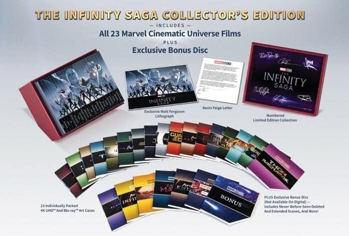 Marvelov Kompletni MCU Infinity Saga 4K Blu-ray Box Set Izašao