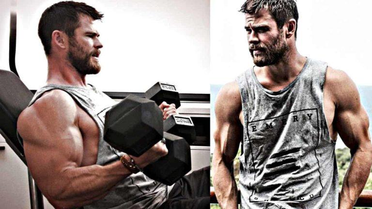 Majica Chrisa Hemswortha izgorjela od vježbanja u borbi s kilama iz 'Avengers: Endgame' [video vježbanja]