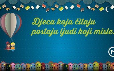 Mozaik kampanja: Djeca koja čitaju postaju ljudi koji misle