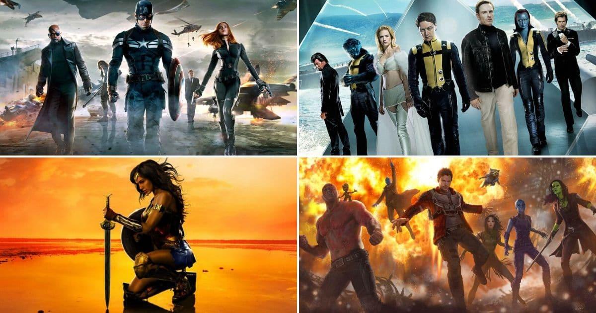 15 Najboljih Superherojskih Filmova prošlog desetljeća