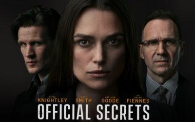 Recenzija: Official Secrets (2019)