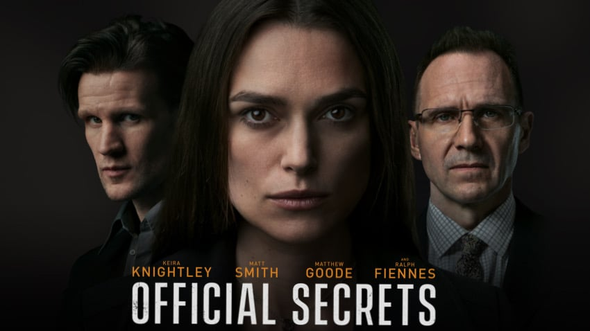 Recenzija: Official Secrets (2019)