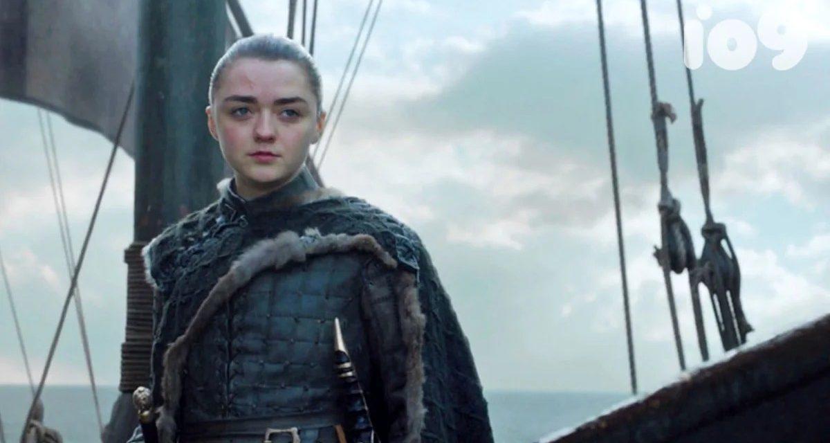 Game Of Thrones showrunneri otkrili gdje je Arya otplovila na kraju 8 sezone