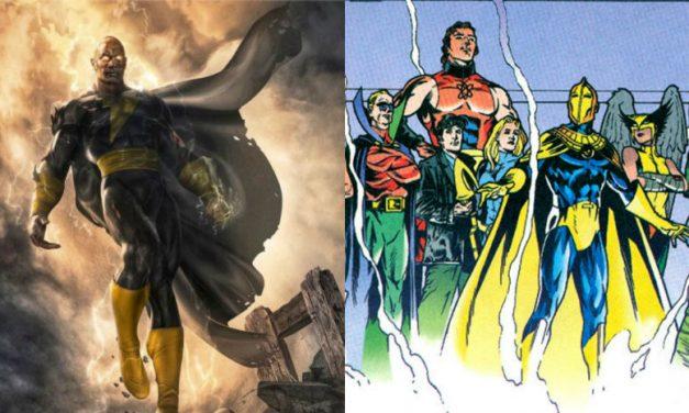 Dwayne Johnson potvrdio da će se Justice Society pojaviti u Black Adam filmu